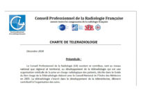 La charte de téléradiologie du Conseil professionnel de la radiologie française