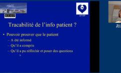 Informer le patient et protéger le soignant en consultation de radiologie interventionnelle